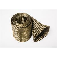 大量供应安徽地区玄武岩纤维编织套管