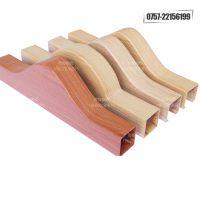 供应北京特殊造型铝方通安装 全铝吊顶天花铝方通效果