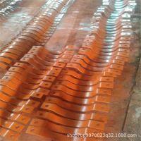 焊制02S402管道水平支座碳钢加重型双扁钢管夹A5-1基准型滑动管托