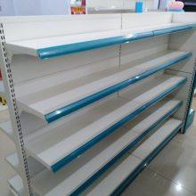 超市单面货架便利店双面架水果架蔬菜架孔背板架子仓储架家用层板架