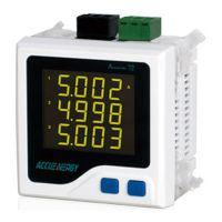 供应爱博精电Acuvim 72紧凑型三相电力仪表,多种电力参数越限报警