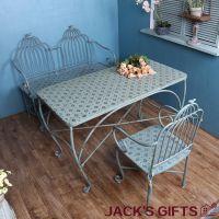 美式乡村小清新餐桌椅套装咖啡厅甜品店桌子椅子组合厂家货源批发