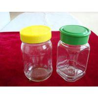 蜂蜜瓶,八角蜂蜜瓶,500毫升八角蜂蜜瓶,1000毫升八角蜂蜜瓶,出口玻璃蜂蜜瓶
