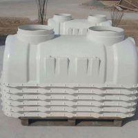 加工济南地铁项目1.5立方米玻璃钢模压化粪池定制品价格报价