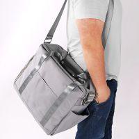 韩版多功能单肩包健身包衣服鞋子大容量行李包牛津布旅行包收纳包