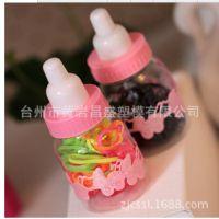 透明塑料食品PET瓶 糖果罐 厂家现货批发 500ml 65*150正方形