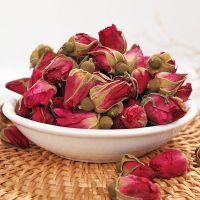 供应平阴玫瑰花茶 批发散装重瓣金边玫瑰花蕾新货花草茶一件代发