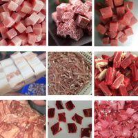 肥肉切丁机,肥膘切块机,张飞牛肉切丁机,广州肉丁机价格