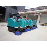 美卓机械热销驾驶式扫地机小型座驾全自动清扫设备3刷路面清扫车