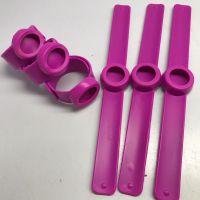 工厂促销啪啪圈硅胶手环创意硅胶手腕带硅胶拍拍橡胶手环定制礼品