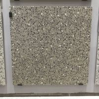 600*600深色颗粒仿古砖水磨石效果 600x600超市商铺仿水磨石地板砖
