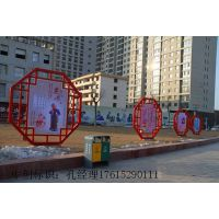 南阳社会主义核心价值观标牌道德法制宣传栏文明城市标志牌广告牌镀锌板材质