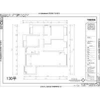 【山水装饰集团早晨装饰】香树花城130平现代设计