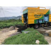 四川新型吸粪车 养殖场粪便现场处理吸粪车