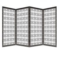 不锈钢屏风定制隔断镂空花格中式现代售楼部酒店铜铝雕花金属玄关