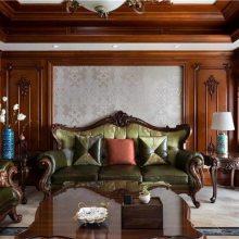 长沙实木中式家具品牌、实木书架、鞋柜门订制别墅专家 家具定制十大品牌-全屋定制家具