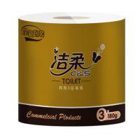 北京洁柔JJ179-01三层卷纸价格洁柔代理商图片
