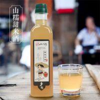 月子米酒江西甜糯米酒500ML客家酒酿黄酒烹饪调味米酒一件代发