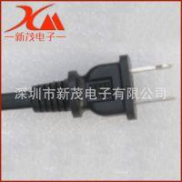 1.5米UL美标电源线  美标插头电源线两插