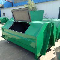 厂家直销2立方3立方垃圾箱可定制