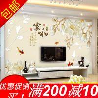 3d电视背景墙壁纸客厅5d立体壁画8d影视墙布无缝卧室装饰大气墙纸