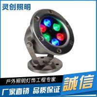 江苏LED水底灯专用技术优良品质推荐亮化厂家灵创照明