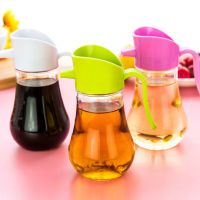 防漏玻璃油壶大号厨房家用塑料油罐酱油瓶醋壶小号 油瓶特价批发