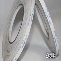 长期供应皇冠DS613无纺布CROWN两面胶 高强度耐温半透明棉纸0.16T