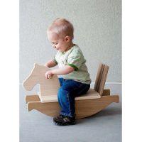 木少年家居用品卡通儿童木马板凳座椅实木工艺礼品生产代加工
