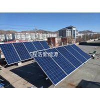 甘肃 兰州 敦煌 张掖 武威 金昌 西宁 程浩太阳能1000W发电系统