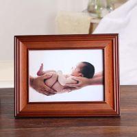 批发热卖 新西兰实木相框摆台7寸6寸10寸创意儿童相片架画框批发