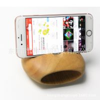 办公室神器 木质扩音器 手机声音放大器 环保木材 其他形状可定做
