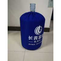 云南供应桶装水桶套布袋定做18.9L纯净水桶束口袋子防尘罩定制logo
