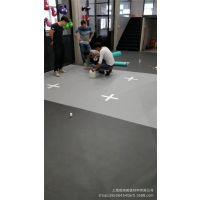 上海专业安装PVC运动地板展览馆会所瑜伽跆拳道舞蹈拳馆pvc地板