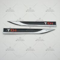 TDI刀锋叶子板车标 适用于大众宝来帕萨特改装车贴 侧标 风刃标