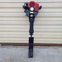 汽油断根挖树机价格 宇佳大马力铲头移树苗机 汽油式铲式起树机