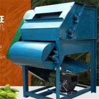 毛豆采摘机 脱荚干净毛豆去荚机 果秧分离毛豆采摘机