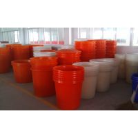 厂家直销 眉山M-600公斤敞口桶 塑料泡菜罐 平底颜色定做