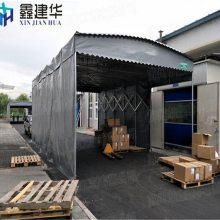 宁波江北区户外大型固定式雨棚工厂伸缩帐篷移动雨棚布是如何做好固定的