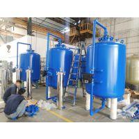 供应齐齐哈尔梅里斯达斡尔族区污水废水工程专用A3碳钢罐 广旗内刷环氧防腐碳钢过滤器
