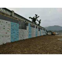 重庆攀岩墙厂家直销 攀岩馆规划设计 重庆云阳攀岩墙案例