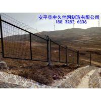 高速公路隔离栅厂家双边丝公路护栏网大棚种植框架防护网
