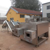 坚果类油炸食品加工机械 神州机械蚕豆 花生 油炸生产线生产厂家