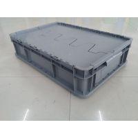 标准大众物流运输带盖物流箱批发