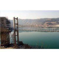 水库悬索桥工程