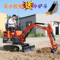 农田翻地小挖掘机 宽度1米的农用微型挖掘机价格表