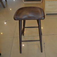 酒店餐厅酒吧商务休闲高吧台椅72cm实木吧椅可定制