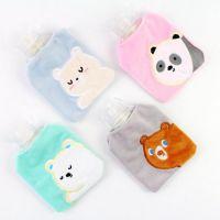 小马百货批发 三只熊带套热水袋 居家日用充水暖手袋