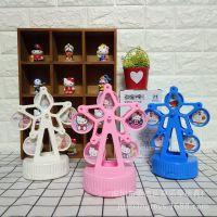 KT哆啦A梦摩天轮相框音乐盒 儿童宝宝写真相框婚纱摄影相架八音盒