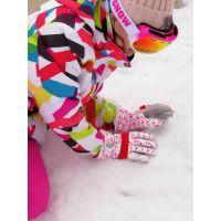冬季手套女滑雪玩雪加厚保暖防风骑车打雪仗防水户外防寒韩版棉女
